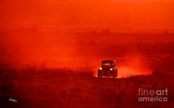 2CV in the Dust by T Lang