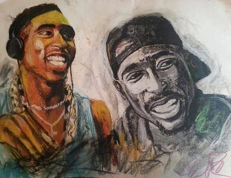 2pac by Willie Porter