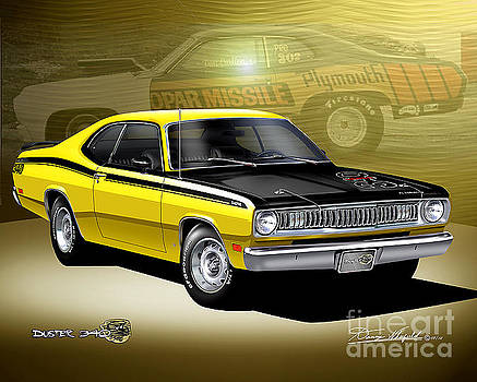 1972 Plymouth Duster by Danny Whitfield
