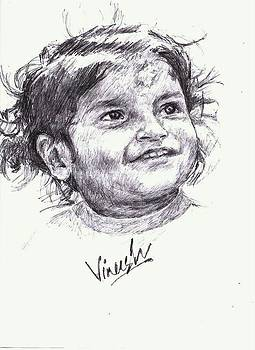A pencil touch.. by Vineesh Attiyatiyil