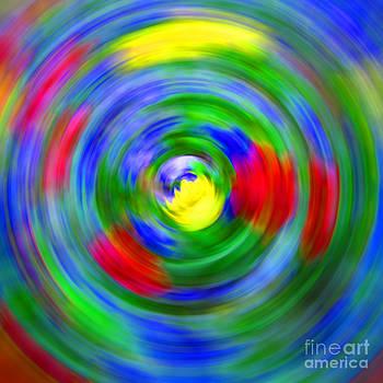 Abstract circles by Martina Roth