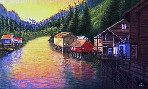 Alaskan Waterway by Raffi Jacobian