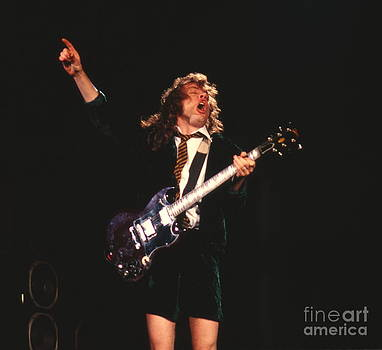 Angus Young by David Plastik