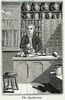 Apothecary Shop by British Library