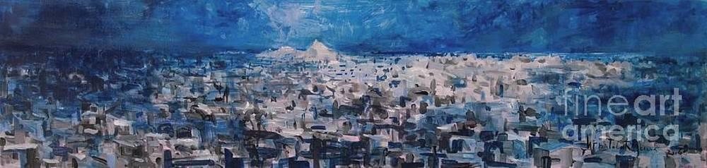 Athens is Sleeping by Jelena Ignjatovic