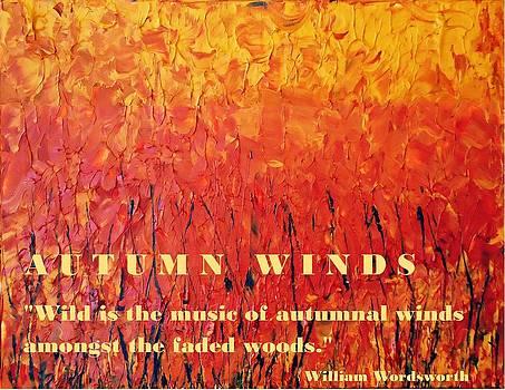 Autumn Winds by Luz Elena Aponte