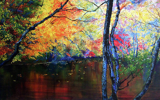 Autumns silent tapestry by Jennifer  Blenkinsopp