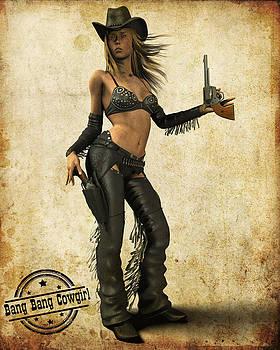 Bang Bang Cowgirl by Frederico Borges