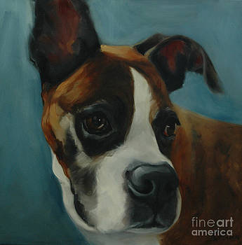 Boxer by Pet Whimsy  Portraits