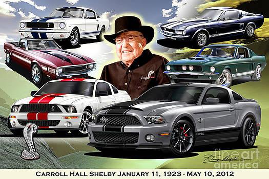 Carroll Hall Shelby January 11 1923  May 10 2012  by Danny Whitfield