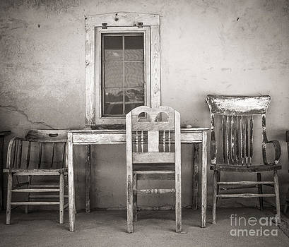 3 Chairs by Sherry Davis