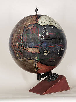 Chinese Terrestrial Globe by British Library