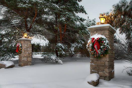 Christmas Snow by doug hagadorn by Doug Hagadorn
