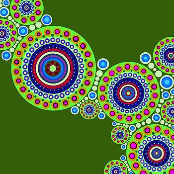 Circle Motif 119 by John F Metcalf