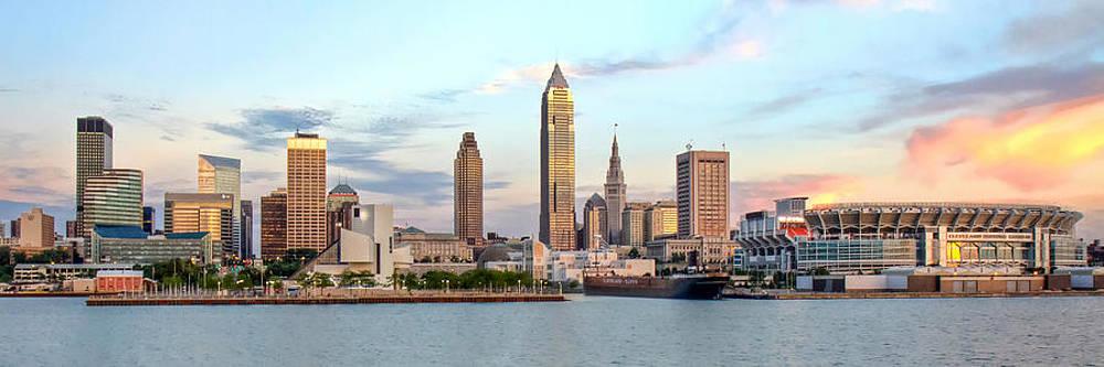 Cleveland Skyline by Brent Durken