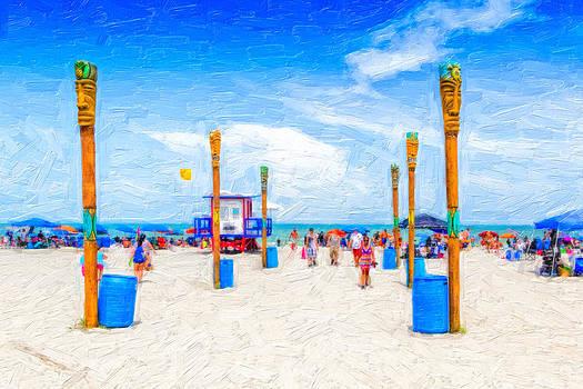COcoa Beach Florida by Saibal Ghosh