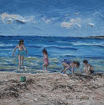 Coral Strand Connemara Ireland by Diana Shephard