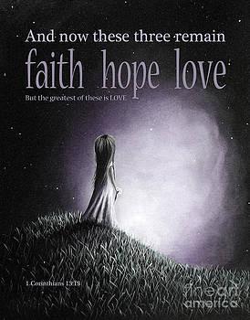 Corinthians Inspirational Bible Verses by Artisan Parlour