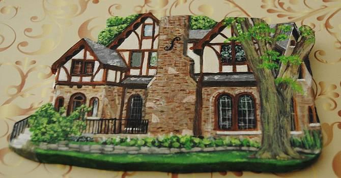Custom House Paintings by Sandra Oropeza