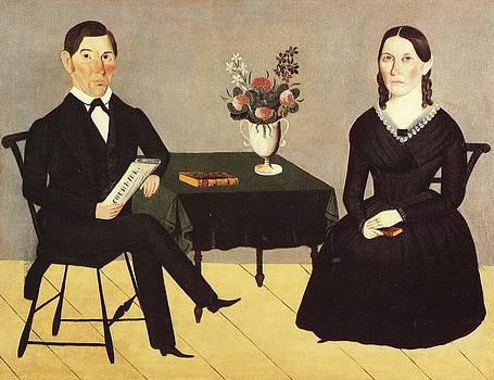 David and Catherine Crane by Sheldon Peck