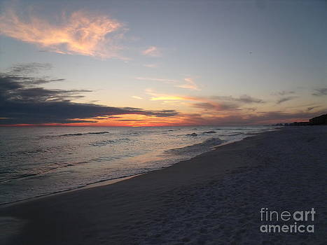 Destin Florida Sunset by Craig Calabrese