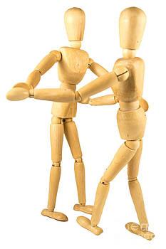 Dummies dancing  by Stefano Piccini