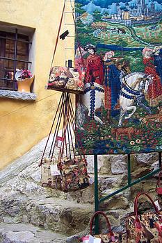 Eze Tapestry by David Nichols