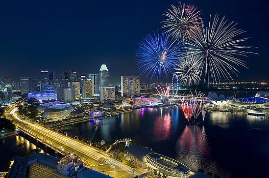 Fireworks by Ng Hock How