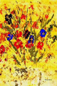 Flowers by Hema Rana