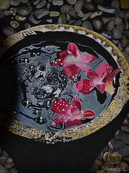 Flowers in Water by Ferid Jasarevic