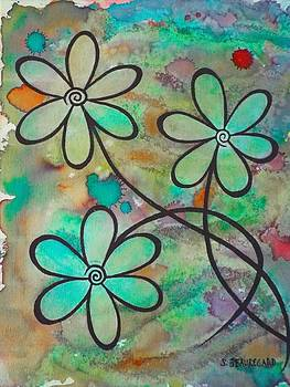 3 Flowers by Stefanie Beauregard
