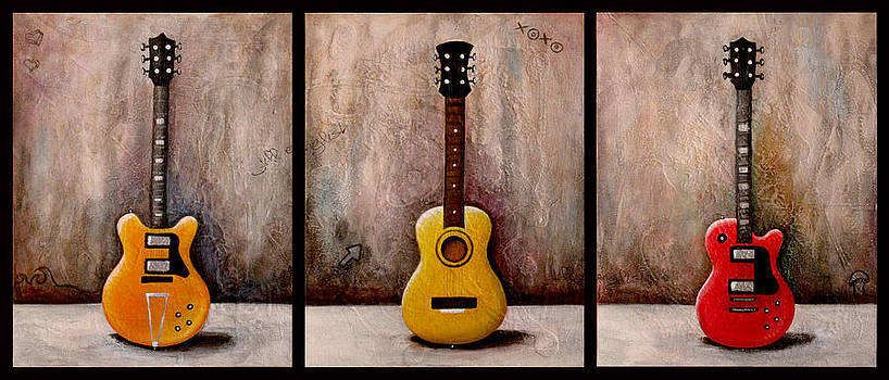 3 Guitars by Jill English