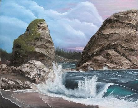 Harris Beach by Lou Magoncia
