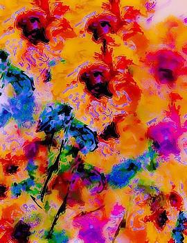 Hibiscus Impressionist by William Braddock