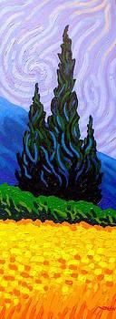 Homage To Van Gogh by John  Nolan