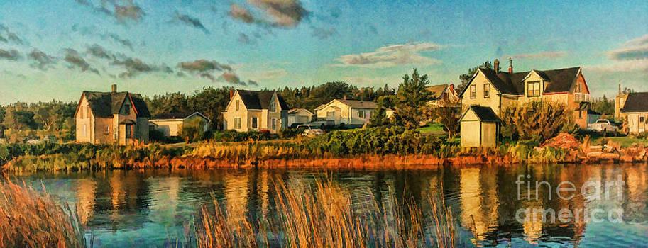 3 Houses in Gabarus by Shawna Mac