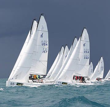 Steven Lapkin - J70s Upwind