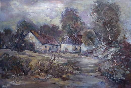 Landscape by Zlata Bodiova