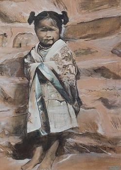 Little Hopi Girl by Terri Ana Stokes