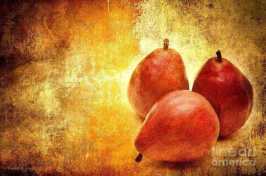 3 Little Red Pears Are We by Andee Design