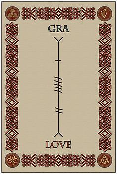 Love Written In Ogham by Ireland Calling