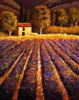 Lumieres De Provence by Santo De Vita