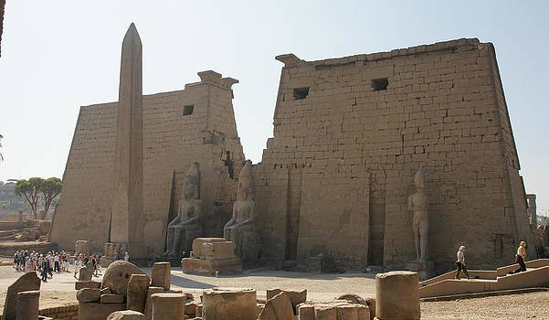 Luxor Temple by Olaf Christian