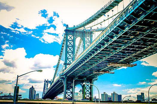 Manhattan Bridge by San Gill