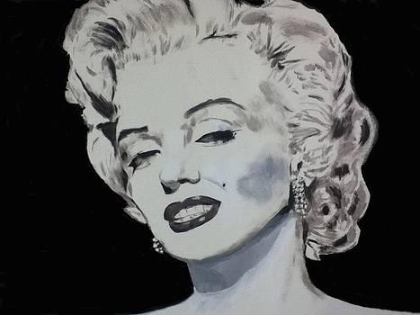 Marilyn Monroe by Dan Twyman