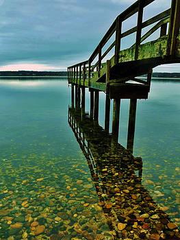 3 Mile Harbor by John Wartman