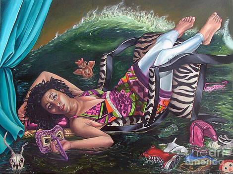 My private Tsunami by Shelley Laffal