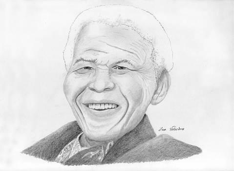 Nelson Mandela by M Valeriano