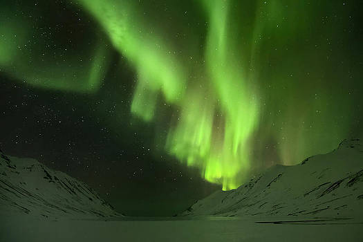 Northern Lights Iceland by Sigurdur Aegisson