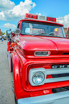 Ole Time Fire Truck Series by Kelly Kitchens